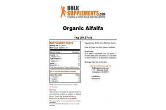 Organic Alfalfa Powder by Bulksupplements (1 kilogramme)