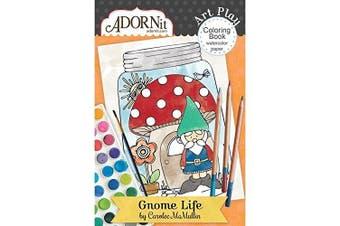 (Gnome Life) - Gnome Life Mini Colouring Book