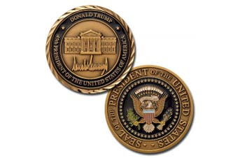 Donald Trump 45th President of the United States of America Challenge Coin