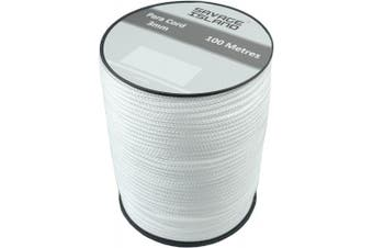 (White) - Savage Island 100m Reel Paracord