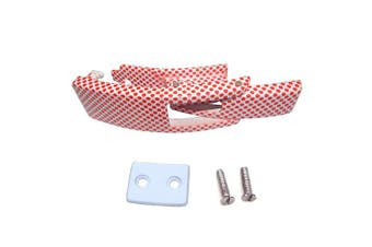 (White with Red Dots) - ARD CHAMPS Replacement Lever for Powerlifting Lever Belts