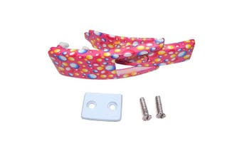 (Pink with Bubbles Design) - ARD CHAMPS Replacement Lever for Powerlifting Lever Belts