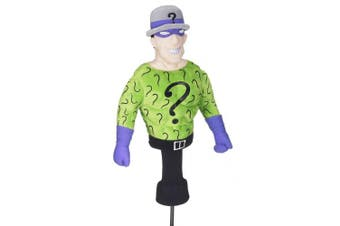 Creative Covers Batman 'The Riddler' Golf Club Driver Novelty Headcover
