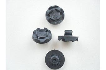 Golf Soft Spikes LARGE THREAD 9mm CHAMP Tred-Lite MT *Various Quantities* ( number of soft spikes 24 )