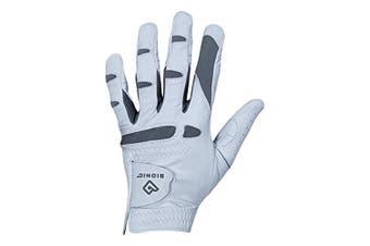 (Medium/Large, Worn on Left Hand) - Bionic Gloves – Men's PerformanceGrip Pro Premium Golf Glove made from Long Lasting, Genuine Cabretta Leather