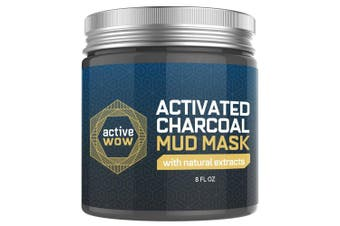 Active Wow Charcoal Mud Mask