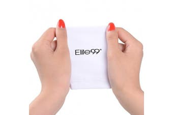 Elite99 Nails UV Shield Glove Anti UV Glove for Gel Manicures with UV/LED Lamps - White