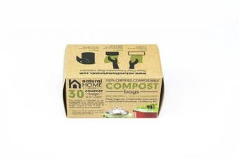 Natural Home 11.4l Compost Bin Bags (30)
