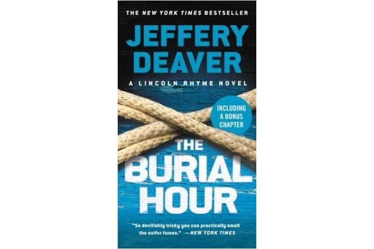 The Burial Hour (Lincoln Rhyme Novel)