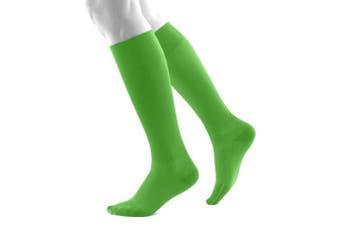 (Green, S short) - Bauerfeind, 1 Pair of Compression Socks, Sports socks for all endurance sports like running, walking, hiking