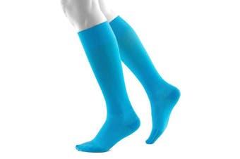 (Rivera, M extra long) - Bauerfeind, 1 Pair of Compression Socks, Sports socks for all endurance sports like running, walking, hiking