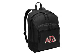Alpha Gamma Delta Backpack CLASSIC STYLE AGD Sorority Backpack Laptop Sleeve