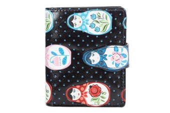 (Russian Dolls) - Shagwear Young Ladies Wallet, Small Purse: Various colours and designs: (Russian Dolls)