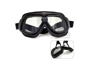 (Smoke) - BJ Global Vintage motorcycle goggles Smoking steampunk goggles cheap coating sport sunglasses for harley,vintage pilot