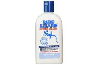 Blue Lizard Australian Sunscreen SENSITIVE SPF30 Plus -- 260ml
