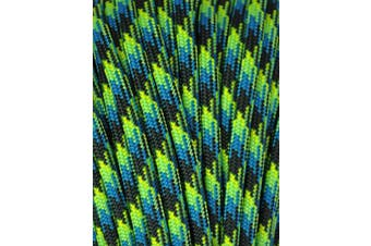 (0.3cm  x 30m, Aquatic) - A.C. Kerman - LE Atwood Rope 250kg Type III 7 Strand Core Paracord