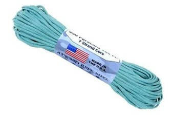 (0.3cm  x 30m, Carolina Blue) - A.C. Kerman - LE Atwood Rope 250kg Type III 7 Strand Core Paracord