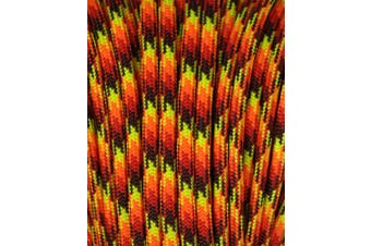 (0.3cm  x 30m, Fireball) - A.C. Kerman - LE Atwood Rope 250kg Type III 7 Strand Core Paracord