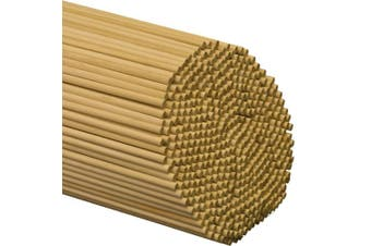 (Bag of 100) - Wooden Dowel Rods 0.6cm x 30cm - Bag of 100