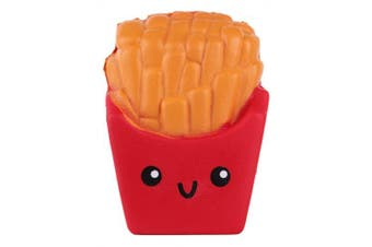 Anboor 11cm Jumbo Slow Rising Kawaii Scented Soft French Fries Squishies Food Toy, 1 Pcs Colour Random