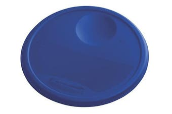 (11.4l., Lid, Blue) - Rubbermaid Commercial Lid (Lid Only) for Round Food Storage Container, Fits 11.4l. Containers, Blue (1980389)
