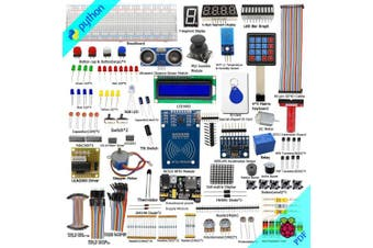Adeept RFID Starter Kit for Raspberry Pi 3, 2 Model B/B+, Stepper Motor, ADXL345, 40-pin GPIO Extension Board, with C and Python Code, Beginner/Learning Kit with 140 Pages PDF Guidebook