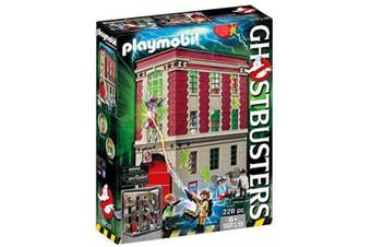 Playmobil Ghostbusters 9219 Firehouse for Children Ages 6+