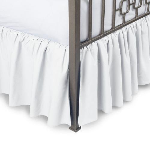 Picture of: Full White Amazon Luxurious 800tc Pure Cotton Dust Ruffle Bed Skirt 50cm Drop Length 100 Egyptian Cotton White Full Size Matt Blatt
