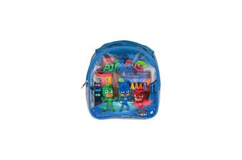Cra-Z-Art PJ Masks Colouring and Activity Backpack Childrens-Drawing-Pads-and-Books,Colours may vary (Red/Blue)