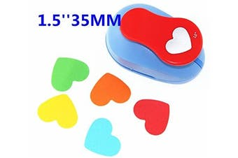 (heart) - CADY Crafts Punch 3.8cm paper punch Craft Punches (heart)