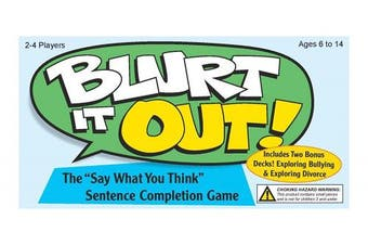"""Blurt It Out! - The """"Say What You Think"""" Sentence Completion Game"""