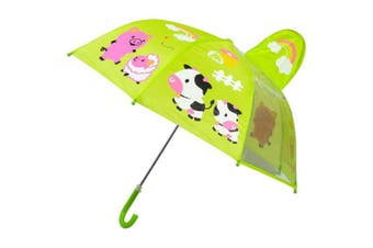 Babalu Farm Umbrella for Children Green