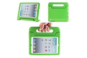 (Green) - Aken Multi Function Child / Shock Proof Kids Cover Case with Stand / Handle for Apple iPad 2nd / 3rd / 4th Generation Tablet (iPad 2/3/4) (green)