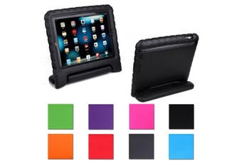 (black) - Aken Multi Function Child / Shock Proof Kids Cover Case with Stand / Handle for Apple iPad 2nd / 3rd / 4th Generation Tablet (iPad 2/3/4) (black)