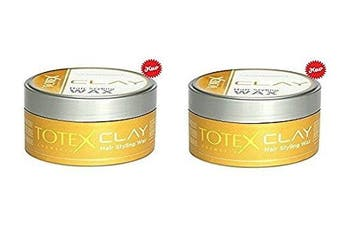 Totex Hair Styling Wax Clay 150ml (2 PCs Offer)
