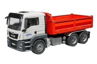 Bruder Man Tgs Construction Dump Truck Vehicle