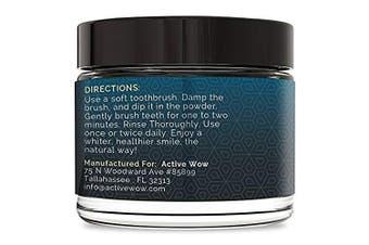 (Vanilla Mint) - Active Coconut Charcoal Powder, Vanilla, 20g