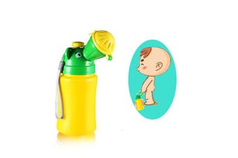 (Boy) - YUMSUM Portable Baby Children Pee Potty Urinal,Watertight Emergency Toilet for Camping Car Travel and Kid Potty Training (Boy)