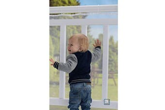 Richoose Safe Rail Net Indoor Balcony and Stairway Safety Net Durable Kids Pet Safety Bannister Stair Mesh Net Protector - 3m L x 0.8m H