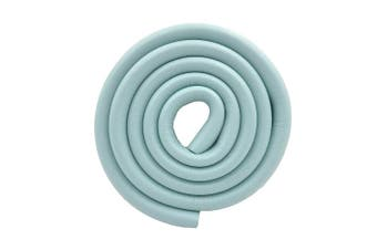 (Blue) - M2cbridge U Shape Extra Thick Furniture Table Edge Protectors Foam Baby Safety Bumper Guard 2 M (Blue)