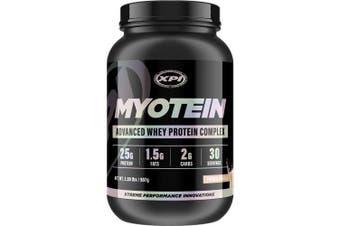 (Vanilla, 0.5-0.9kg Bottle) - XPI Supplements Myotein Whey Protein Powder, Vanilla