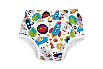 (3+ Years, Outer Space) - Bambino Mio, Potty Training Pants, Outer Space, 3+ Years