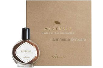 Annmarie Skin Care Clove Shade Minerals - Multi-Purpose Powder Foundation with Mica + Iron Oxide (10.5g)