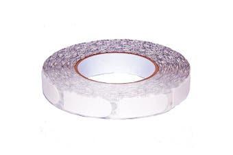 (1.9cm , White Textured) - bowlingball.com Monster Bowling Tape (100-Piece Roll)