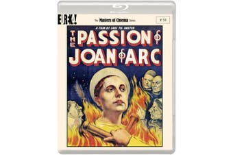 The Passion of Joan of Arc - The Masters of Cinema Series [Region B] [Blu-ray]