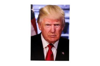 Aahs Engravings Donal Trump Foam Wrap Canvas