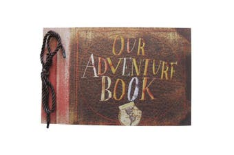 Pulaisen Our Adventure Book,Up Movie DIY Anniversary Scrapbook Handmade DIY Family Scrapbook Photo Album