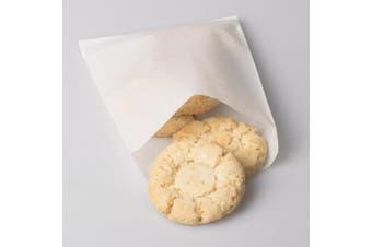 BagDream Glassine Waxed Paper Bags 12cm x 17cm Pack of 100 Flat Glassine Bags Glassine Envelopes