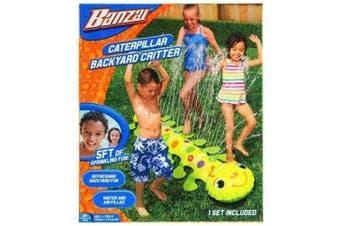 Banzai Caterpillar Backyard Critter Sprinkler 150cm x 50cm