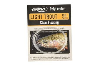 (1.5m Intermediate) - Airflo Fly Lines Polyleader Light Trout